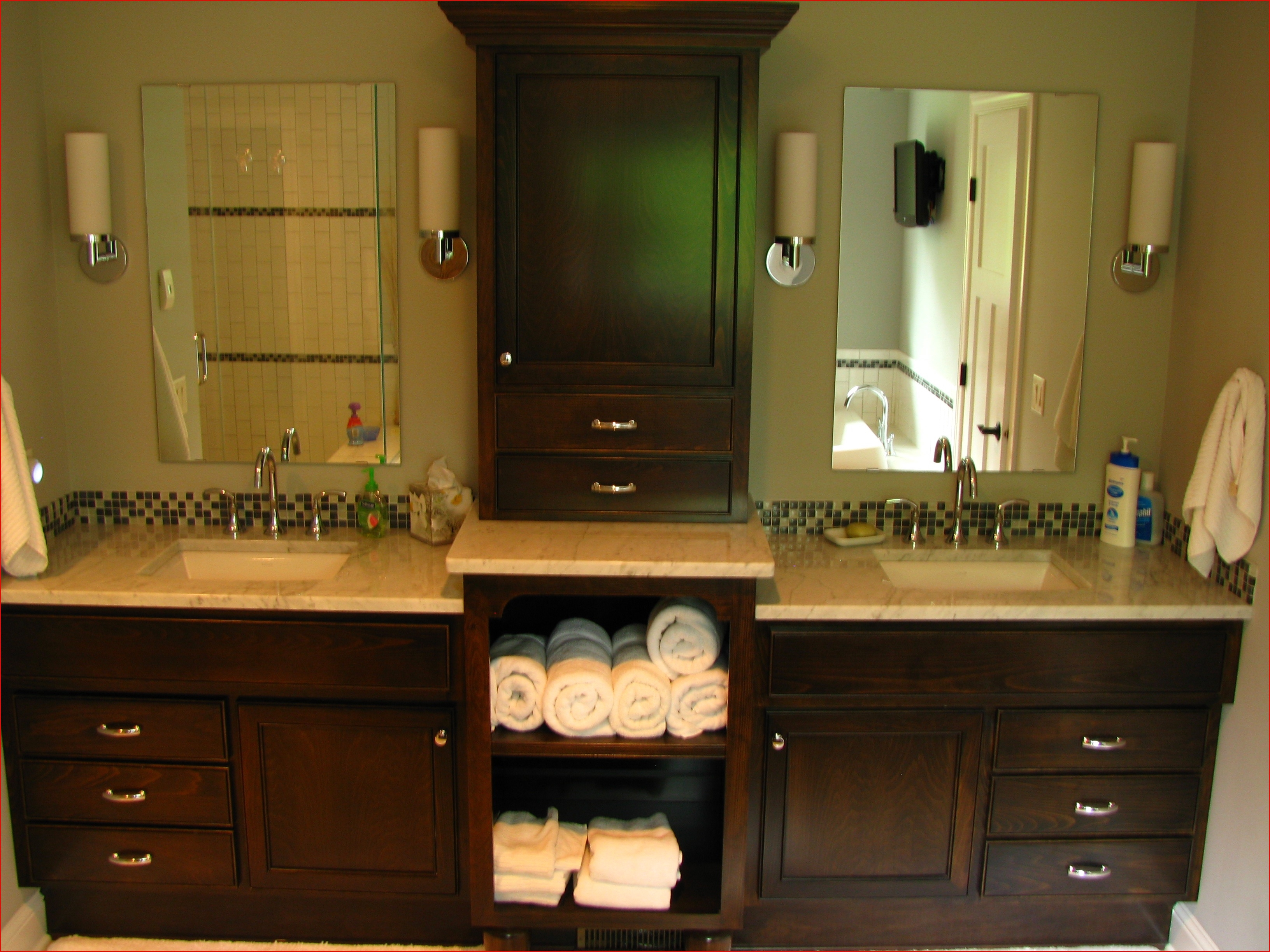 Schrock Bathroom Wall Cabinets