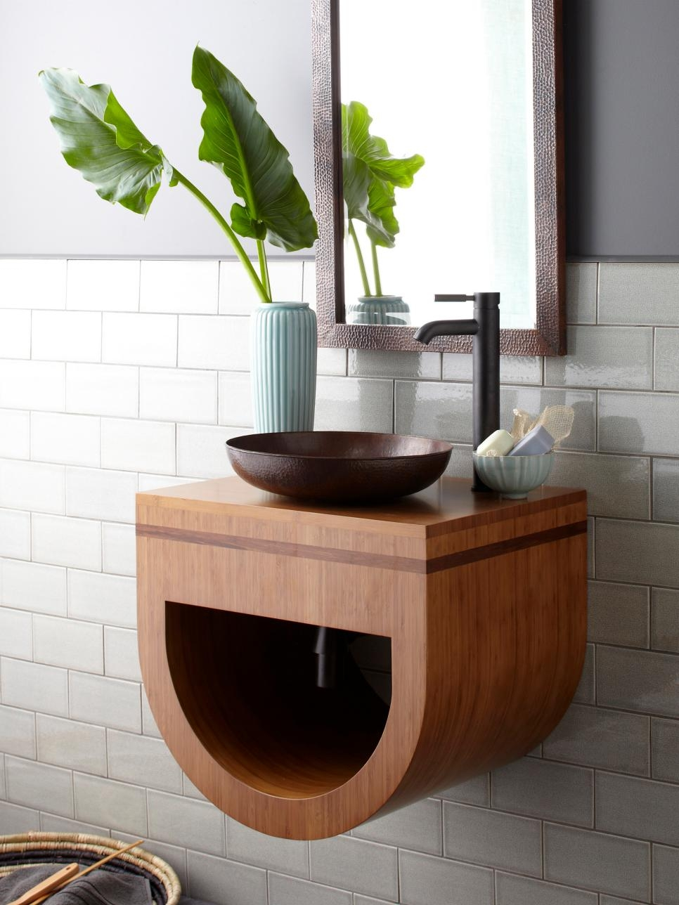 Sinks With Storage For Small Bathrooms