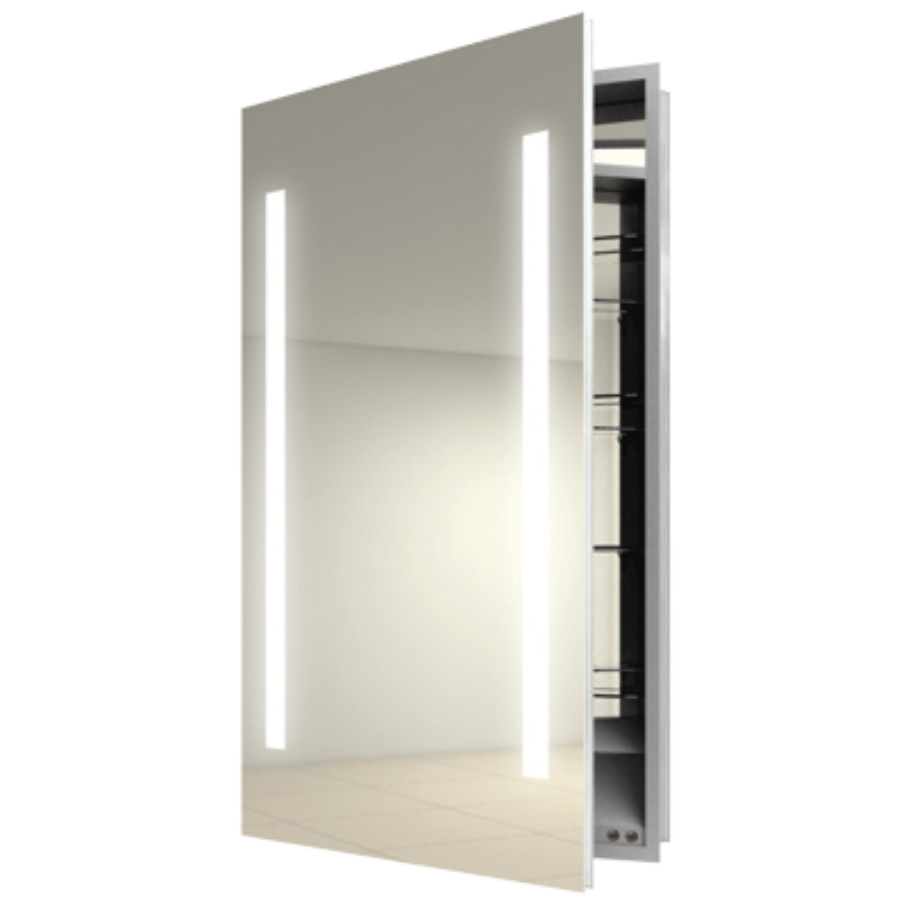 Slim Bathroom Cabinet With Light