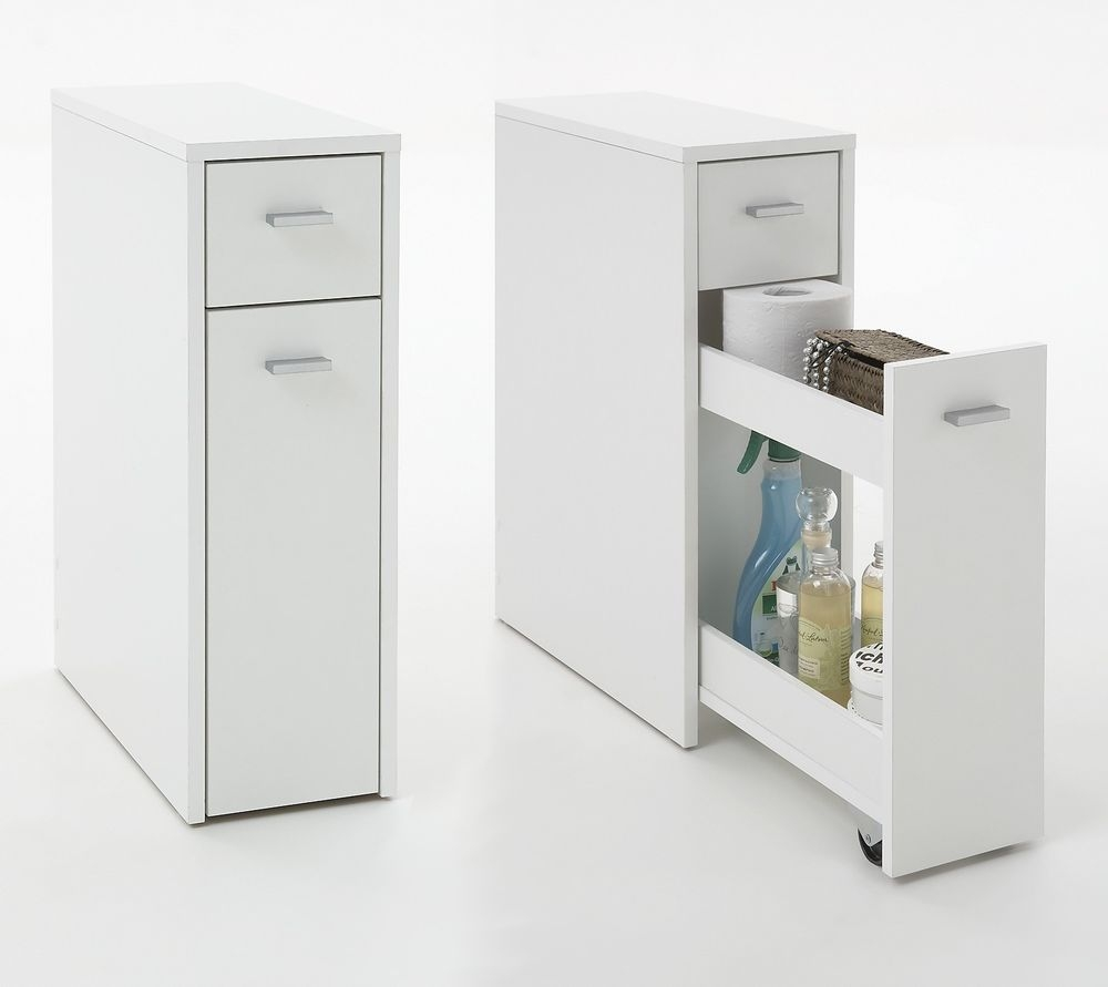 Slim Bathroom Storage Drawers