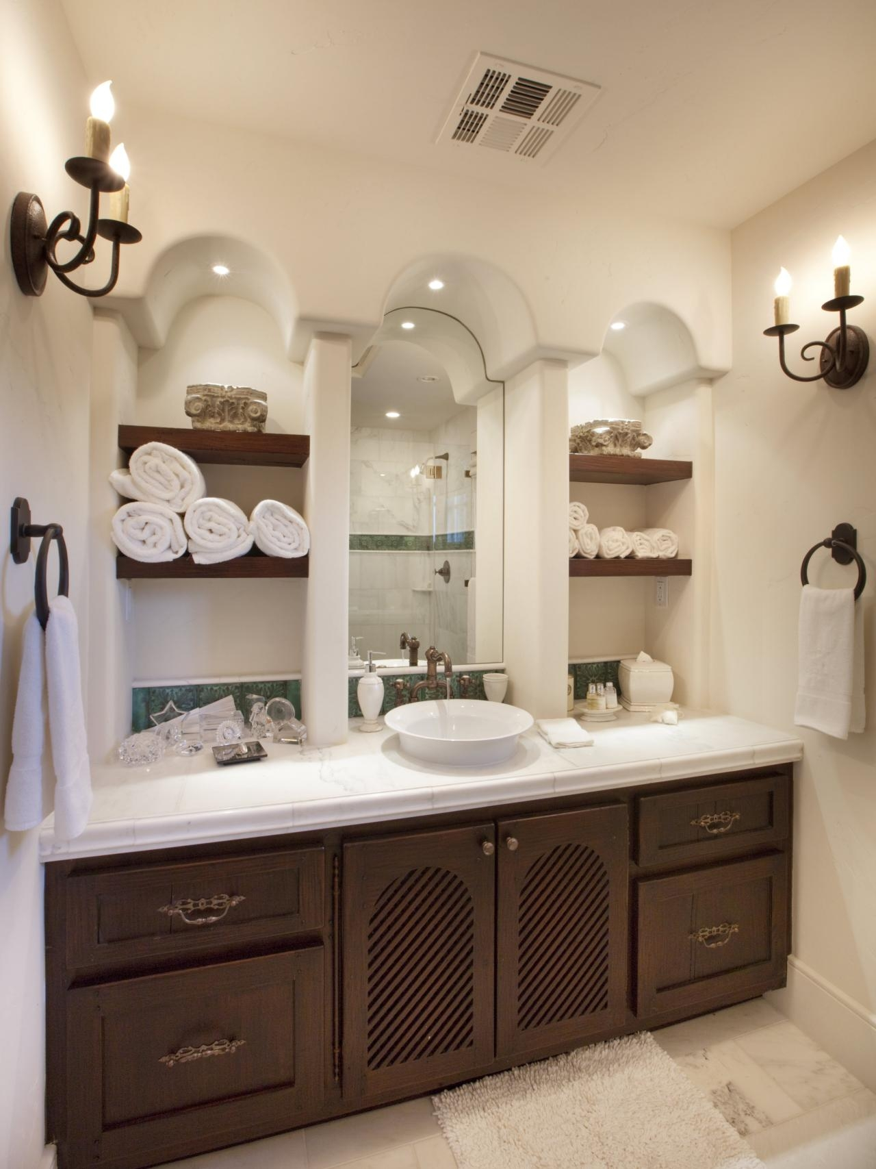 Small Bathroom Cabinet For Towels