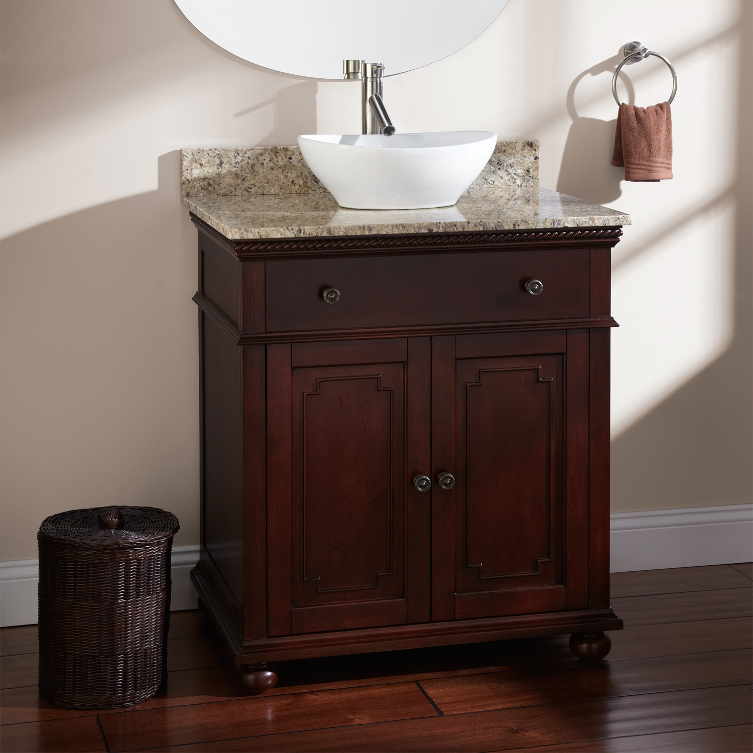 Permalink to Small Bathroom Vanities For Vessel Sinks