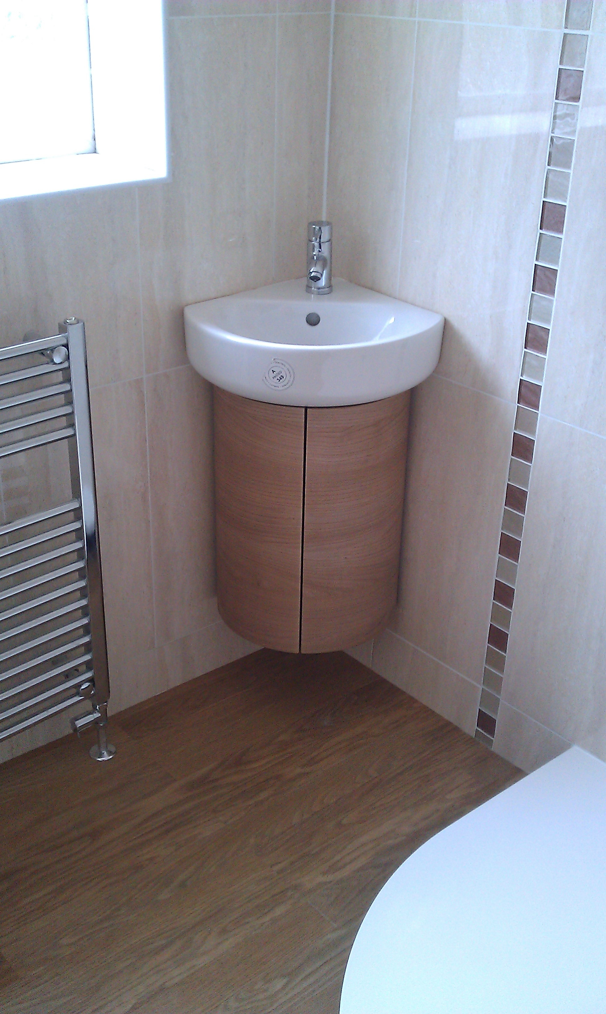 Small Corner Bathroom Sink With Cabinet