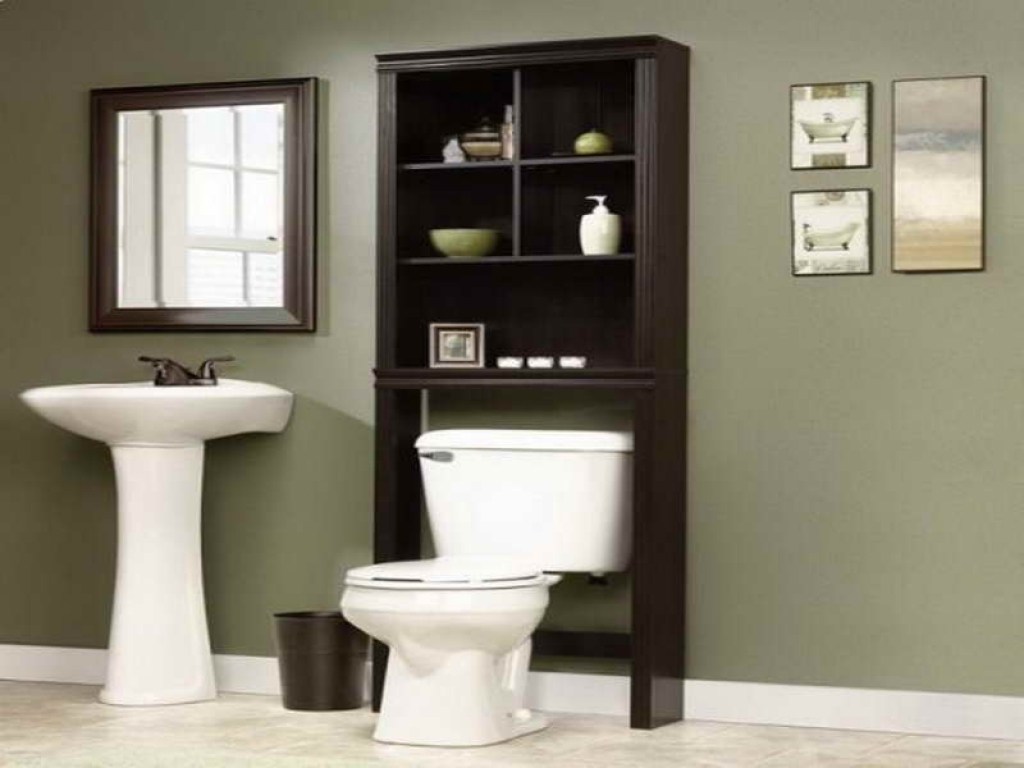 Solid Wood Bathroom Storage Cabinets
