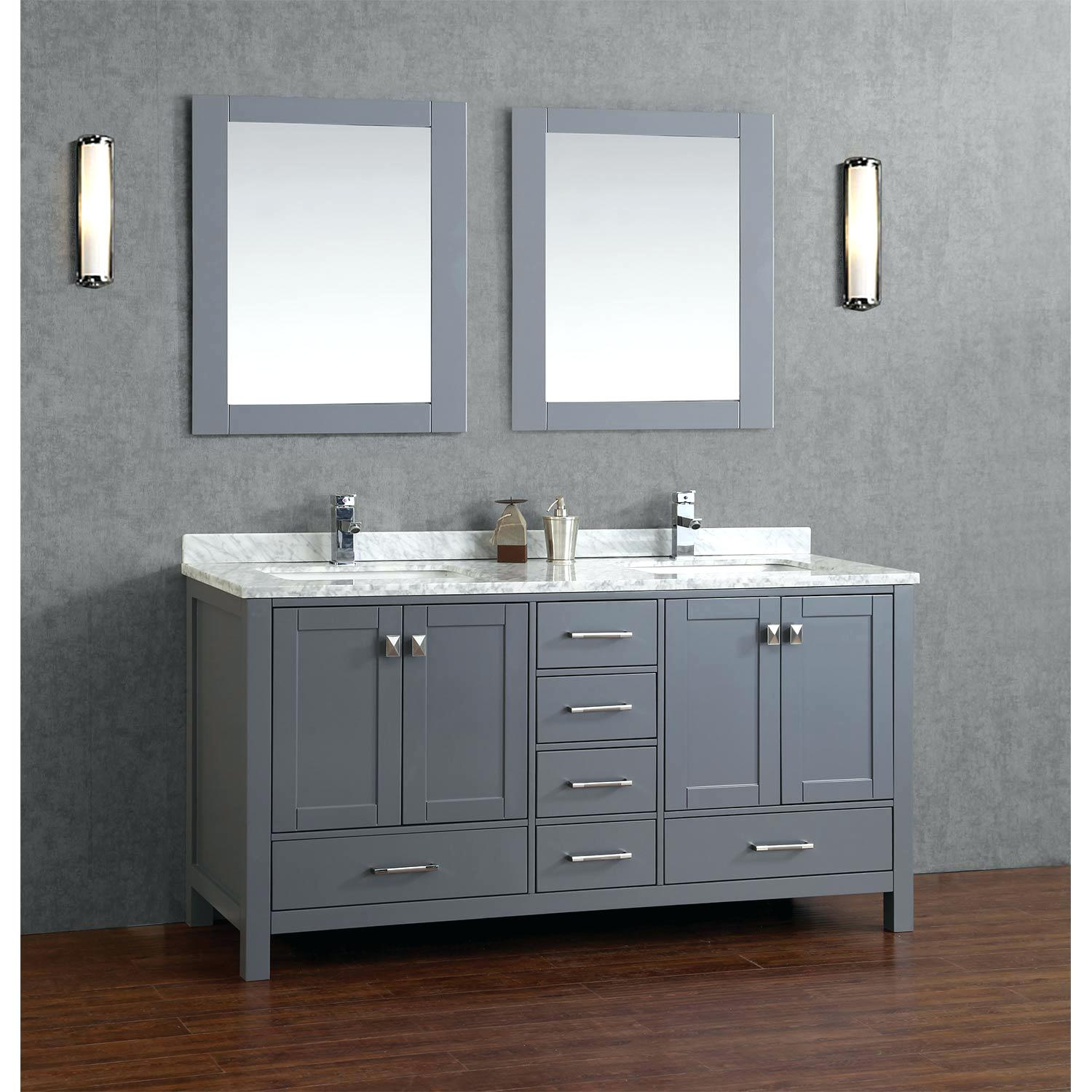 Solid Wood Bathroom Vanity 72