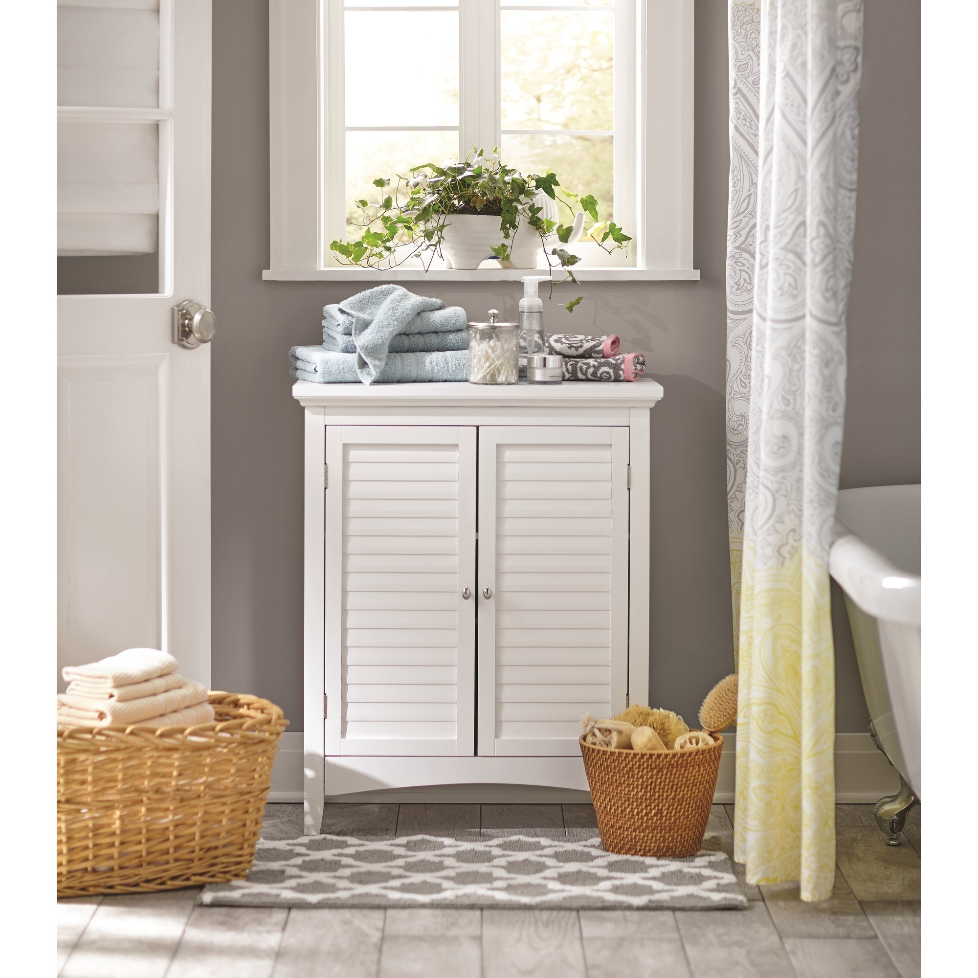 Standing Cabinet For Bathroom