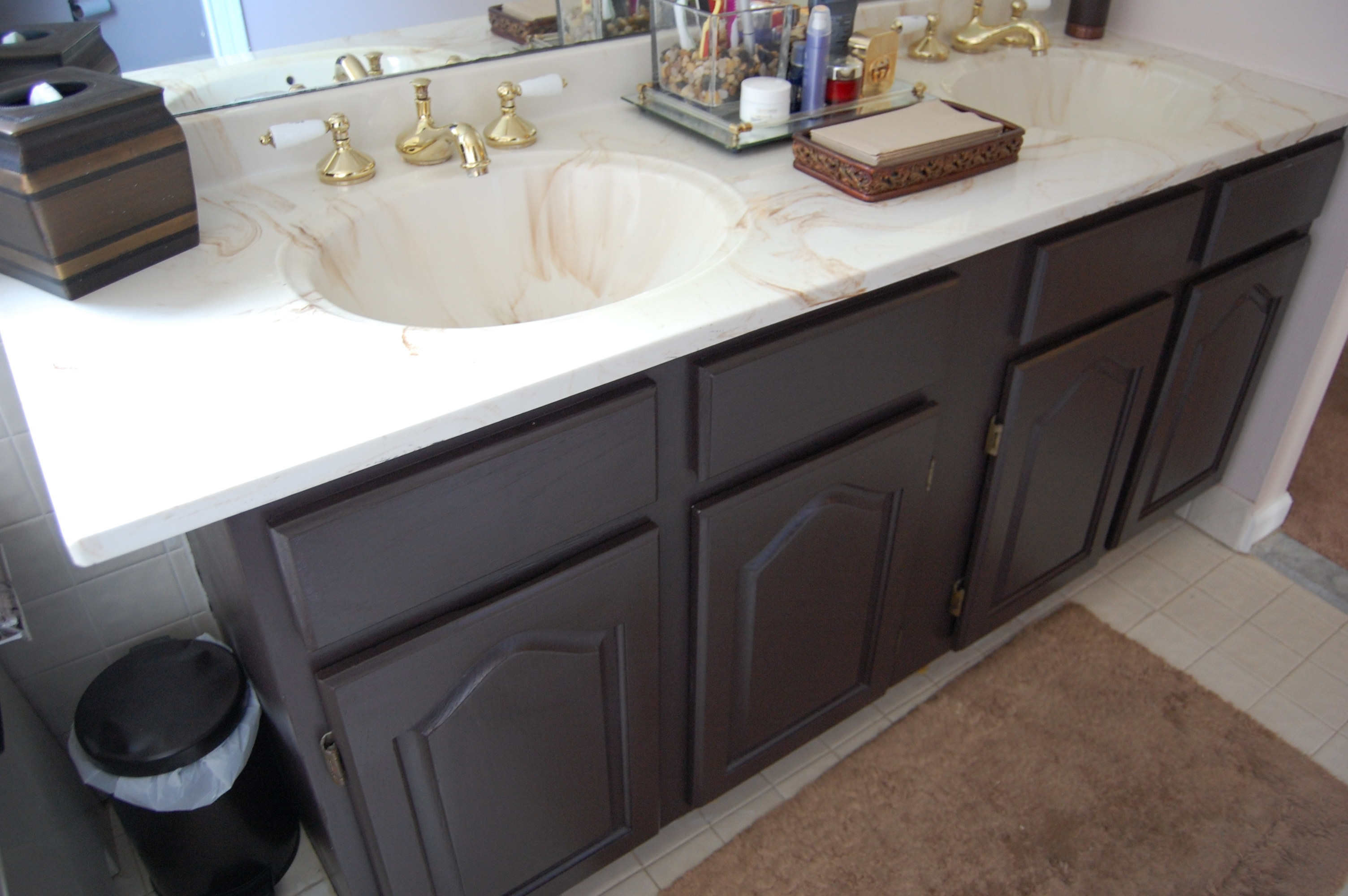 Update Bathroom Vanity With Paint
