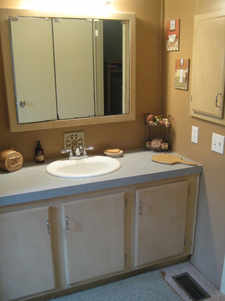 Using Kitchen Cabinets In Bathroom