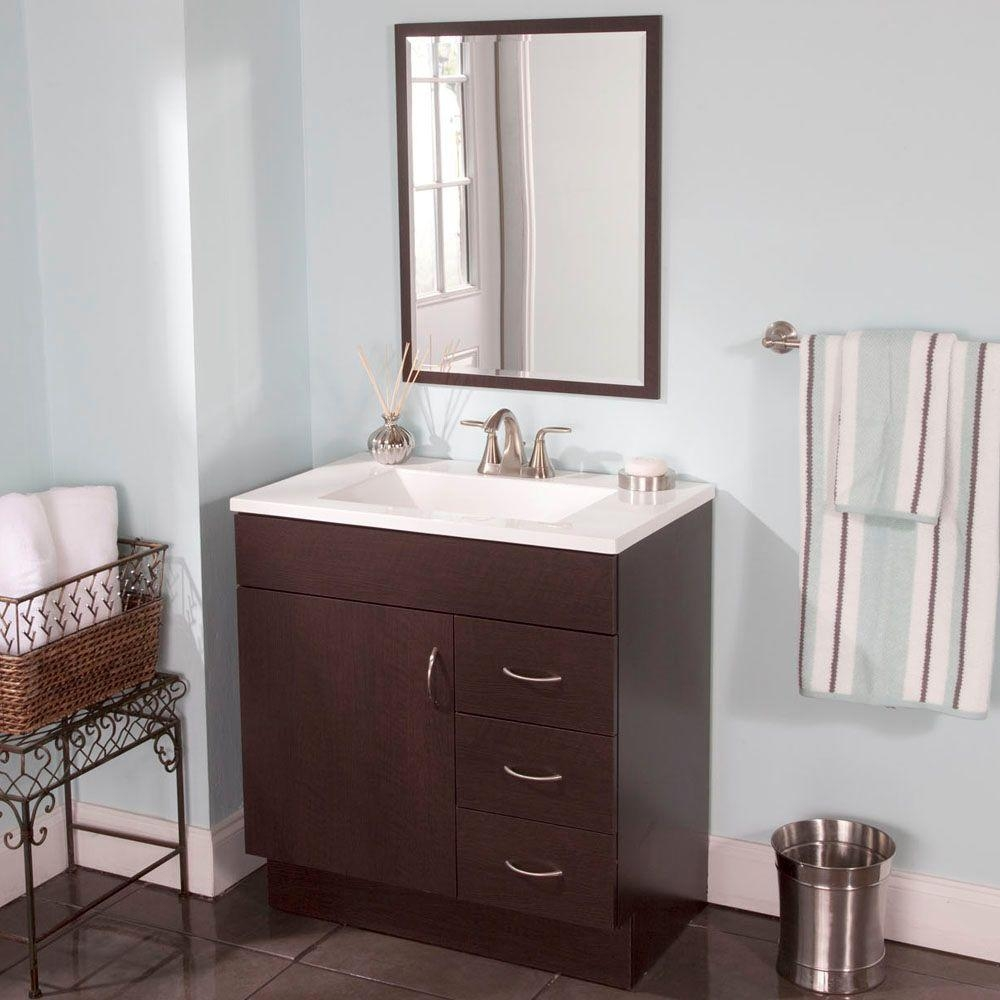 Vanity Cabinets For Bathrooms Home Depot