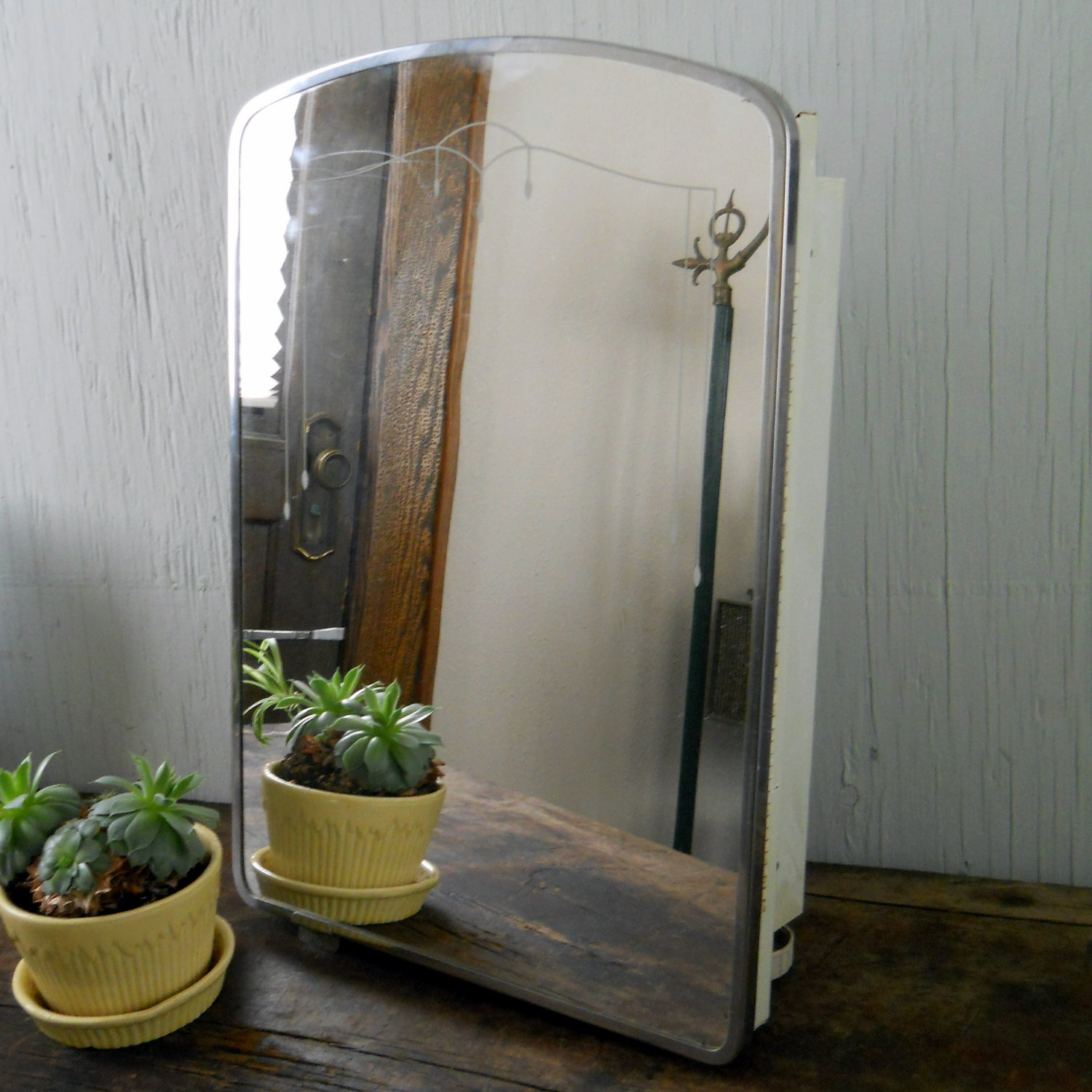 Vintage Bathroom Cabinet With Mirror