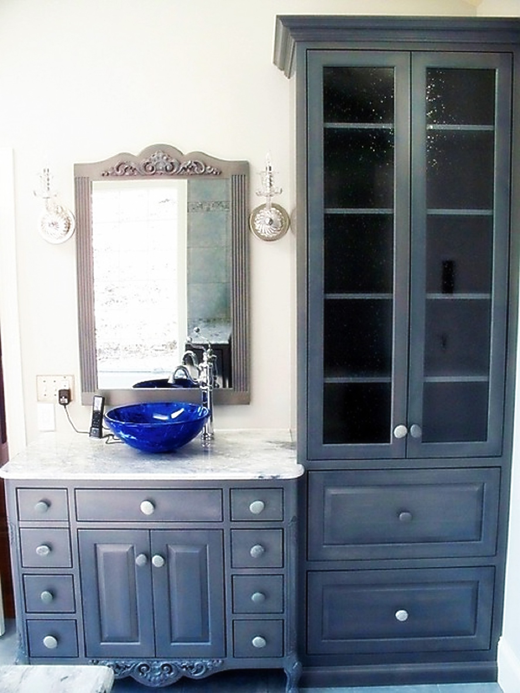 Vintage Bathroom Cabinets For Storage