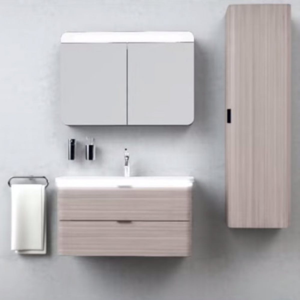 Vitra Bathroom Mirror Cabinets
