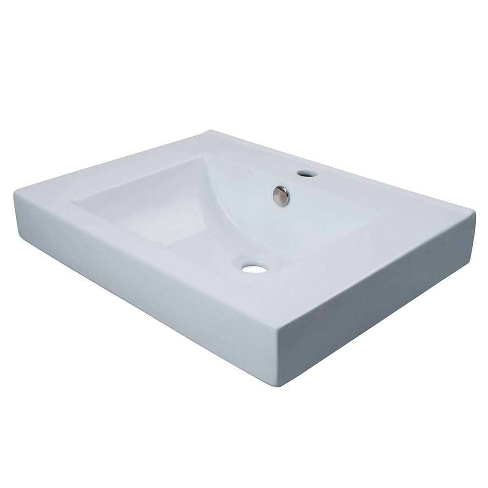 Wall Mount Bathroom Sink Home Depot