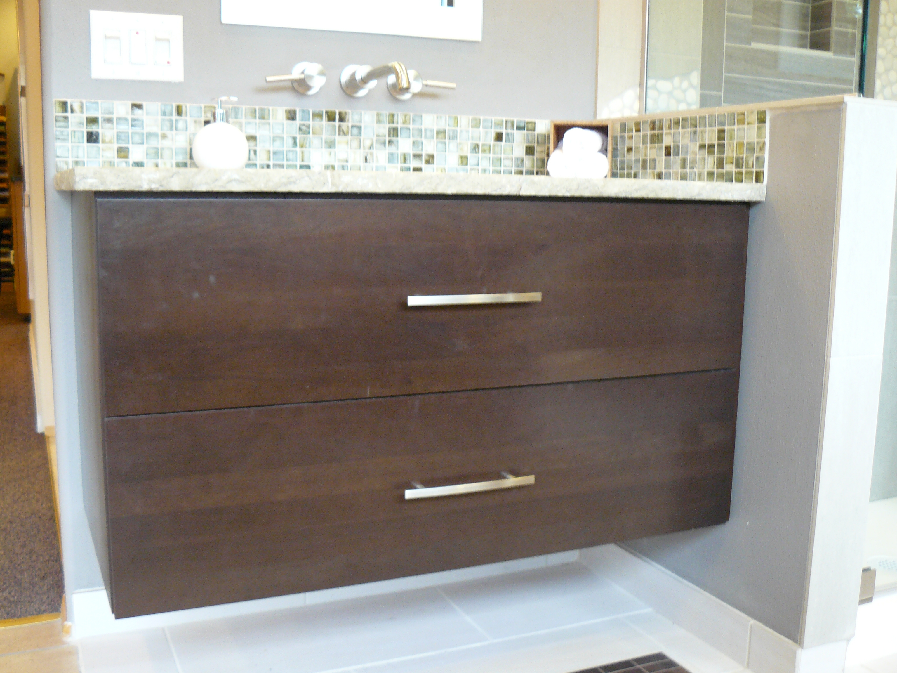 Permalink to Wall Mount Bathroom Vanity Without Top
