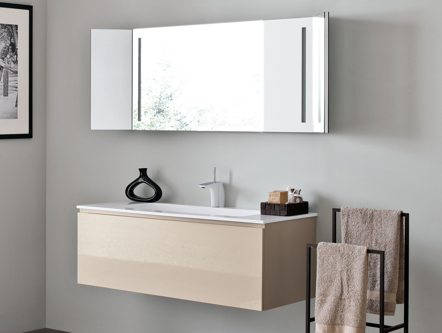 Wall Mounted Bathroom Sink With Drawers