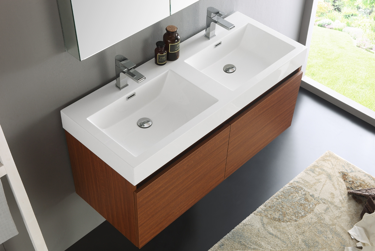 Wall Mounted Bathroom Vanity 48 Inches