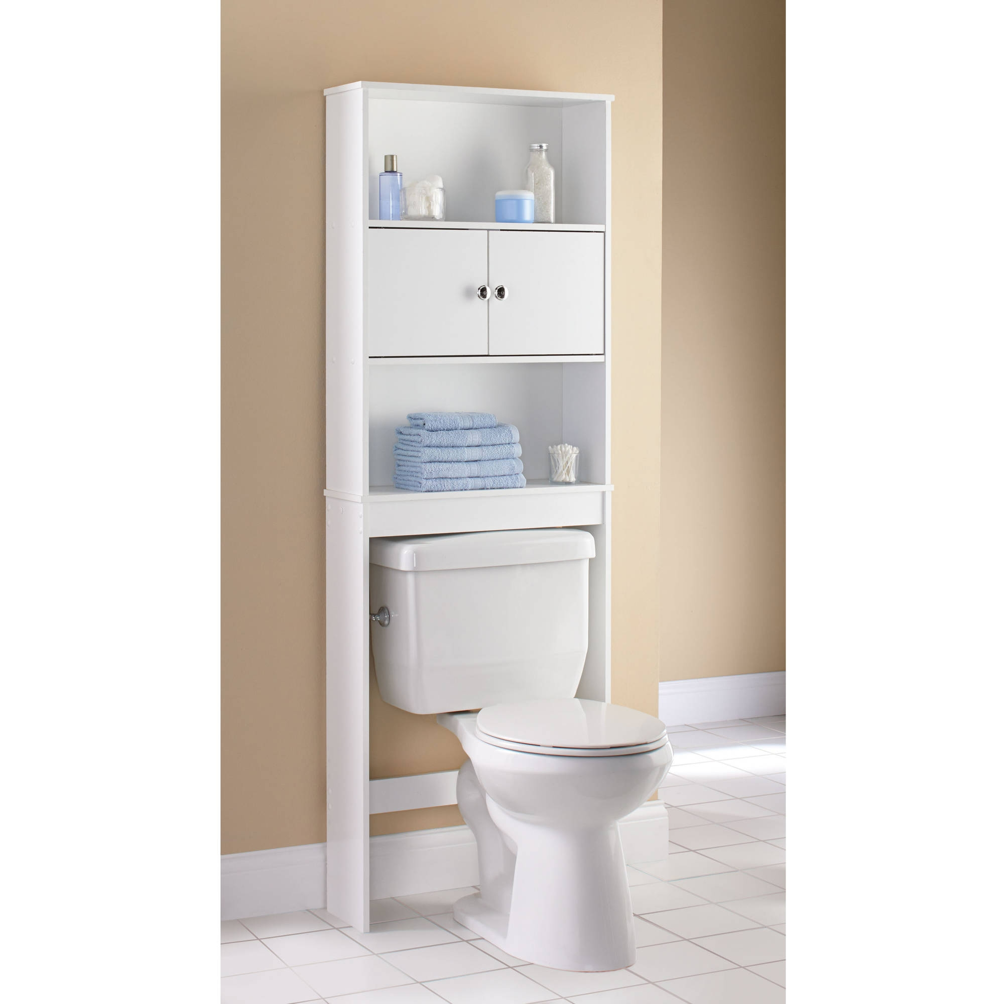Wood Bathroom Space Saver Cabinet