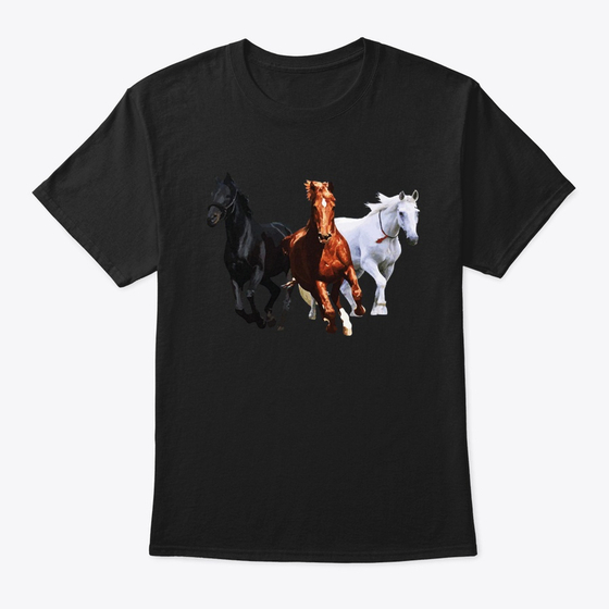 3 Wild Horses Running