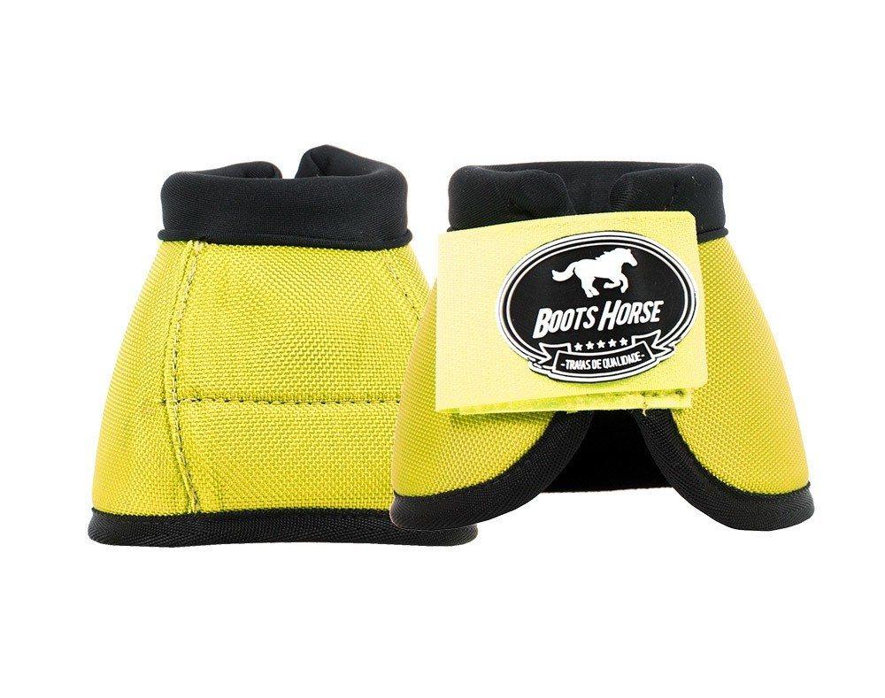 Cloche Color Amarelo Boots Horse