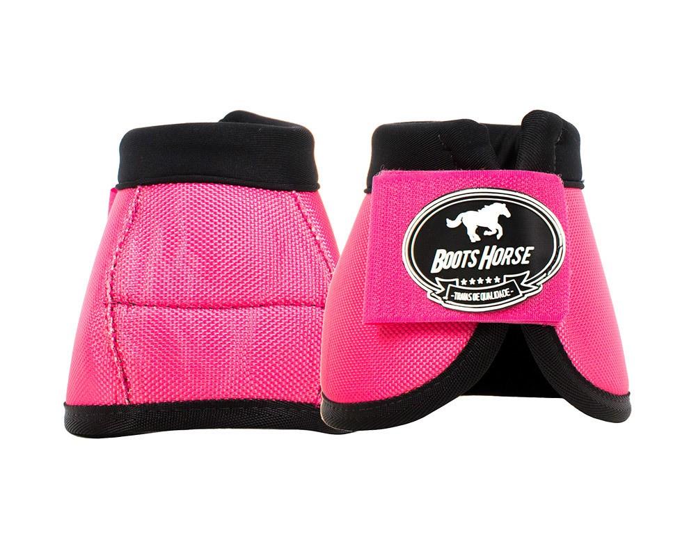 Cloche Color Rosa Boots Horse