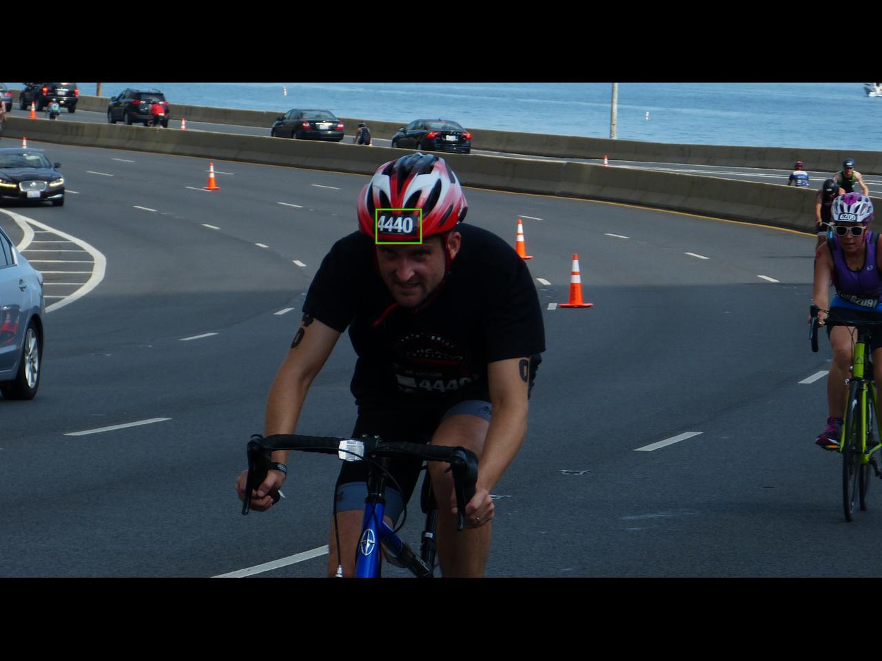 bike helmet bib tagging triathlon