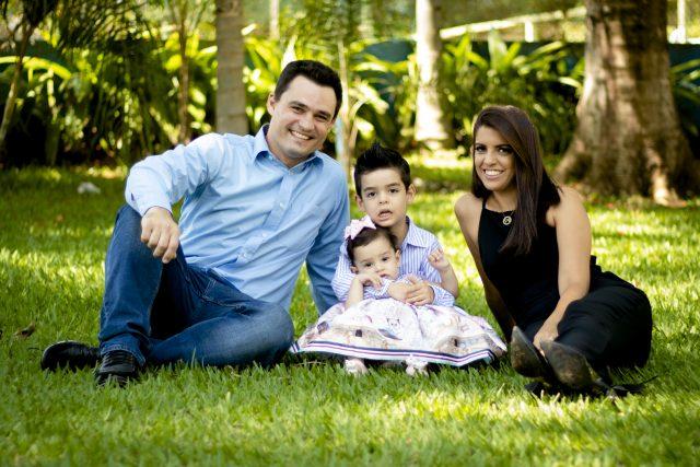 Ensaio fotográfico com a família da Jéssica