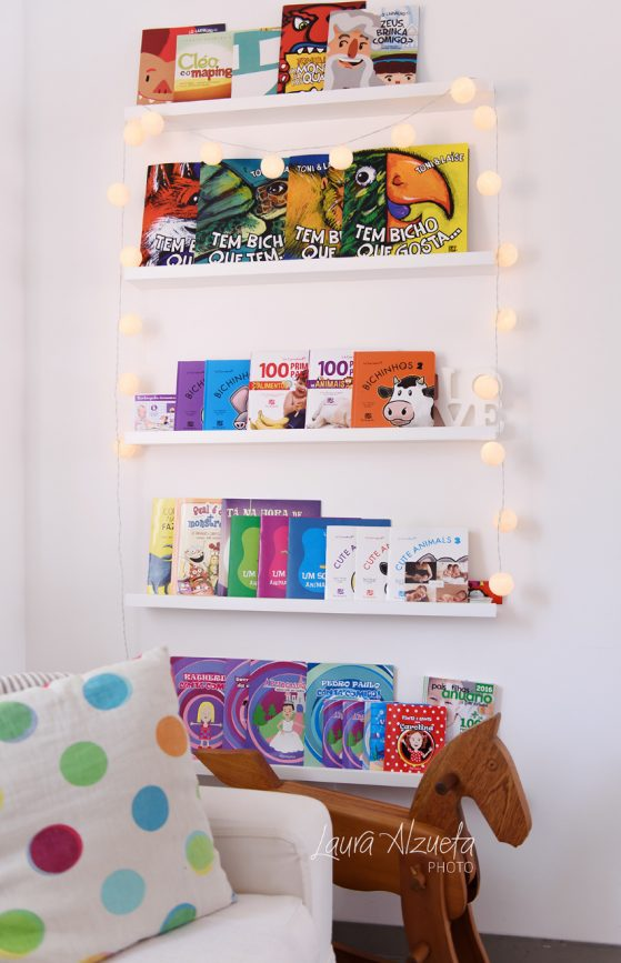 biblioteca infantil em estúdio de fotografia sp