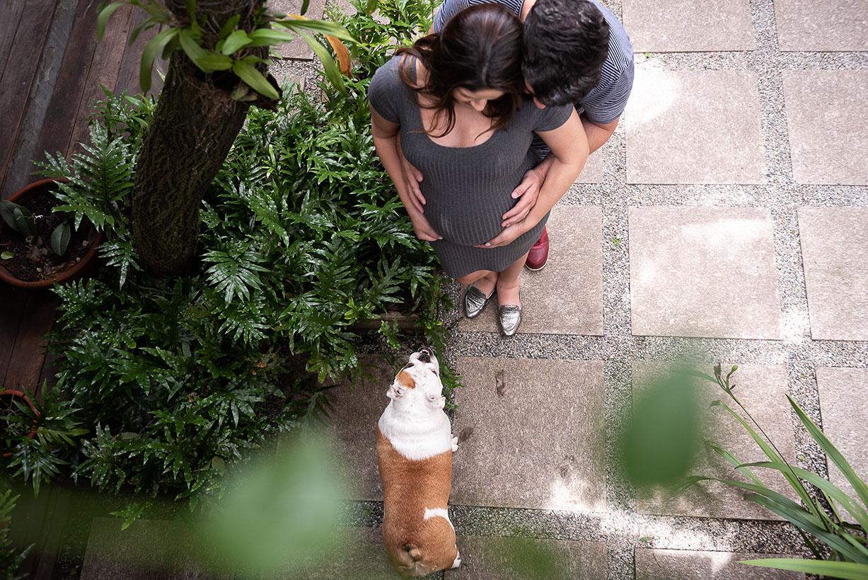 fotografia externa em jardim de estúdio fotográfico