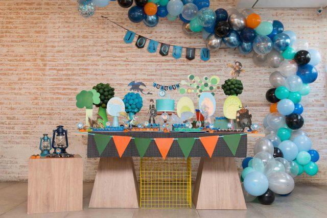 mesa de doces bolo decoração festa temática dragão fotografa de aniversario fotografia de festas infantis sp são paulo