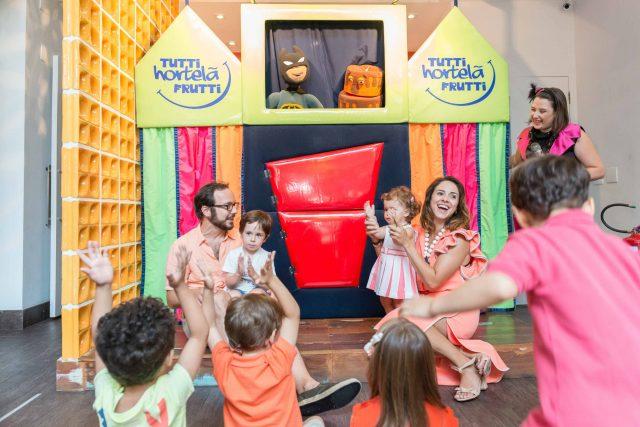 teatrinho infantil apresentação de teatro decoração festa temática dragão fotografa de aniversario fotografia de festas infantis sp são paulo