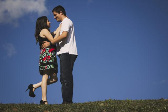 Book com o casal Fabiana e Jorge