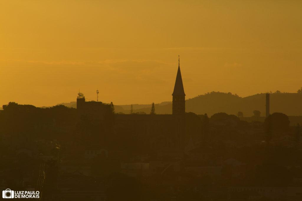 Imagens do pôr do sol em Guaxupé