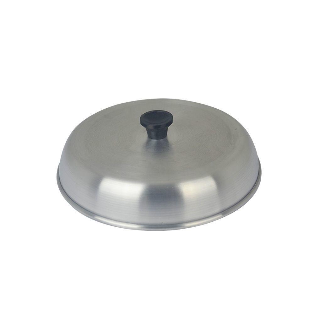 Abafador de Hamburguer em Alumínio de 14 cm Artefatos