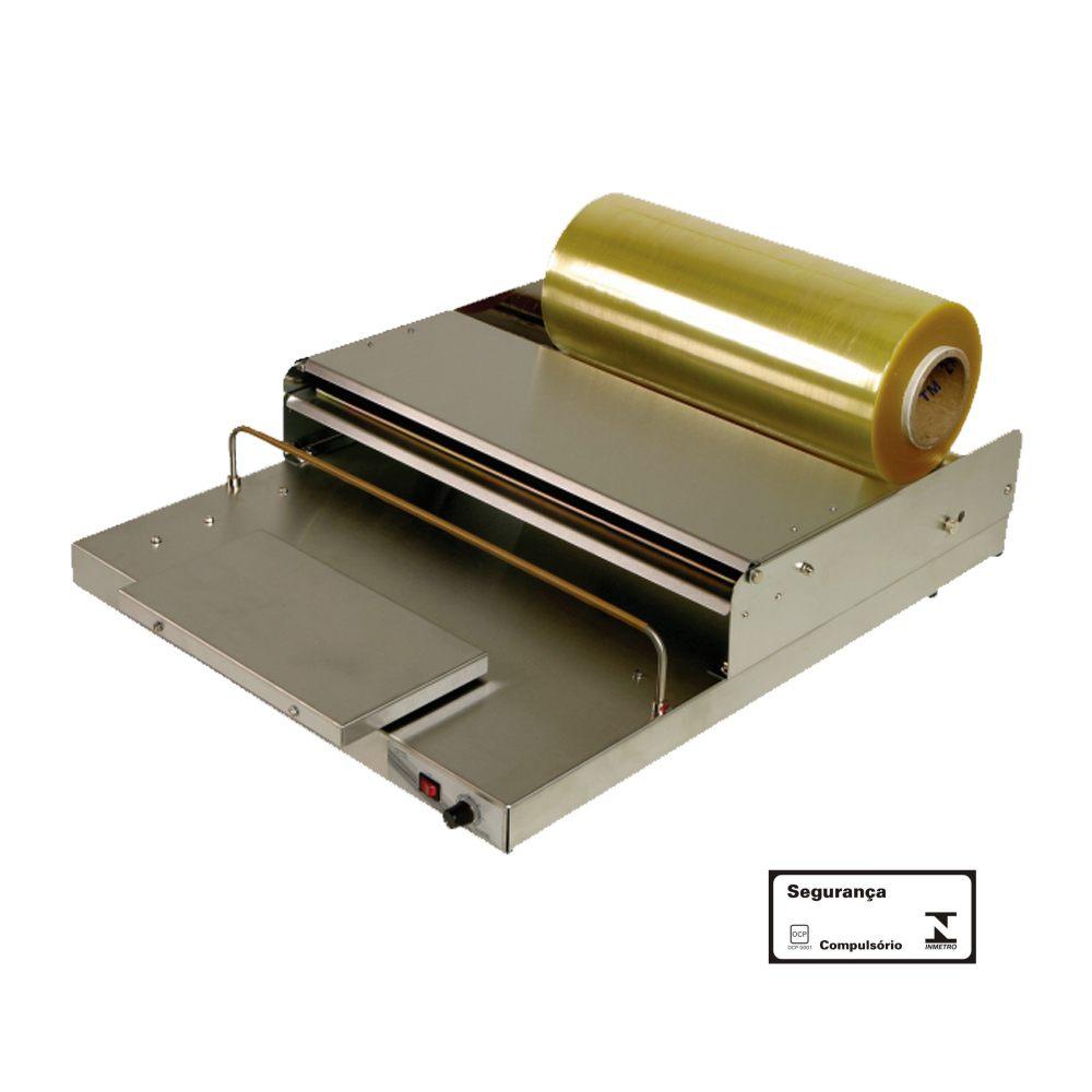 Embaladora para Película de PVC 50 cm com Gabinete 220V Inox B500I Barbi