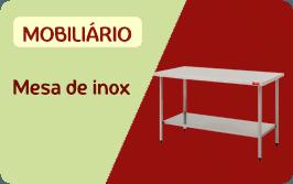 mesa de inox