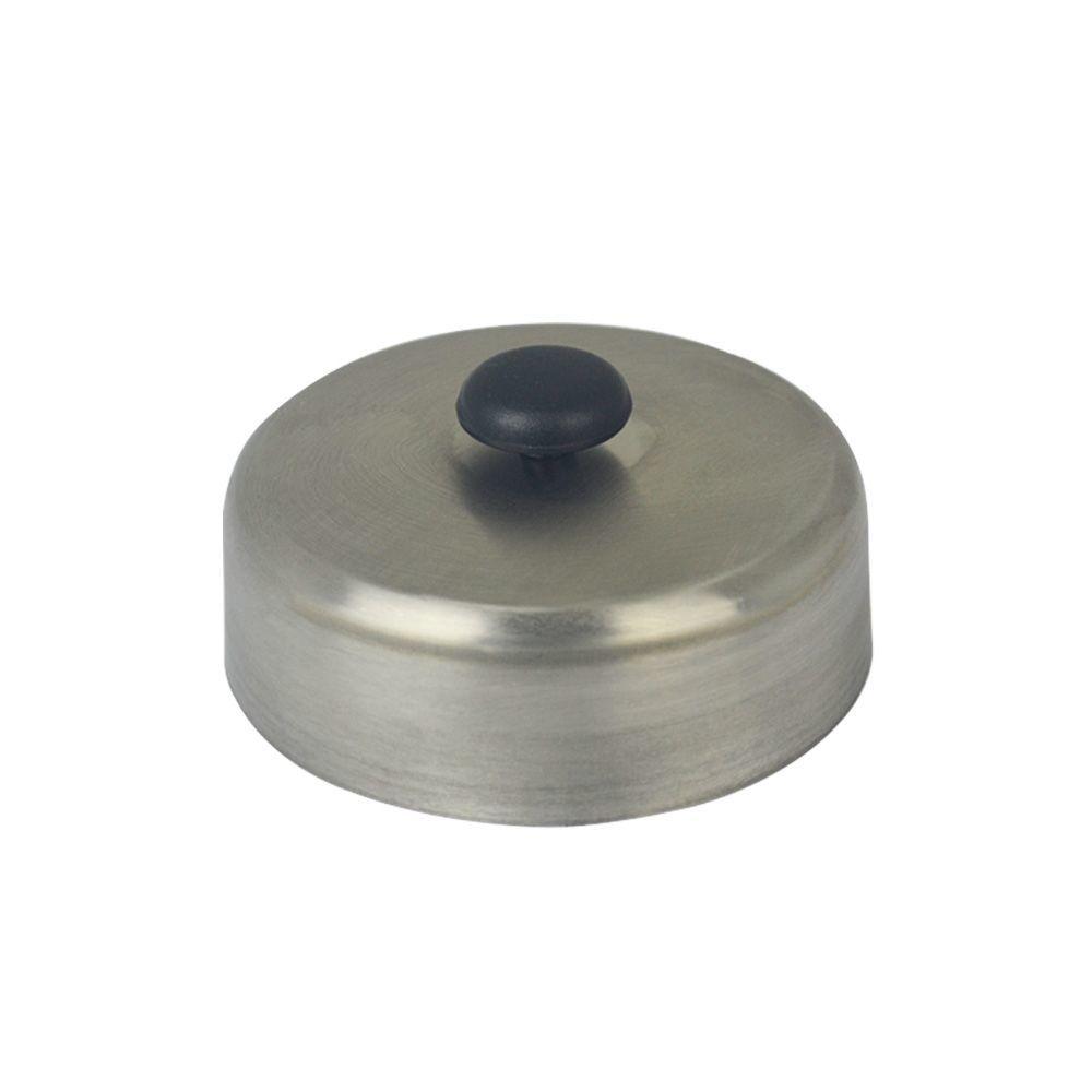 Abafador de Hamburguer em Inox de 14,5 cm - Cimapi