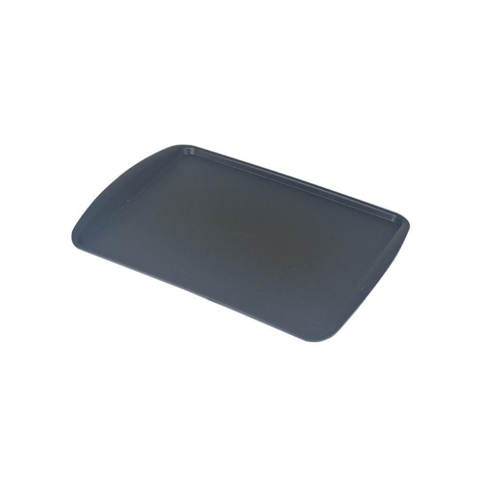 Bandeja de Plástico Preta 34x23 cm S200