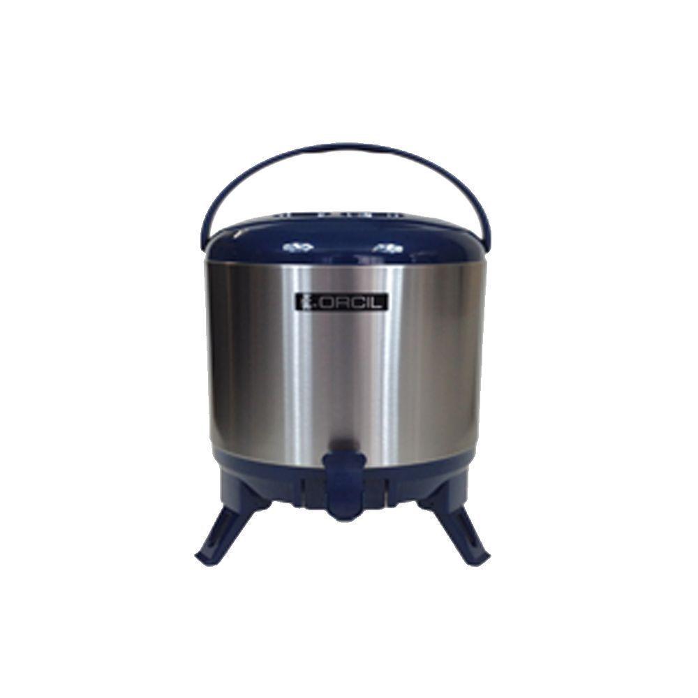 Botijão Térmico 7,7 Litros Azul Orcil