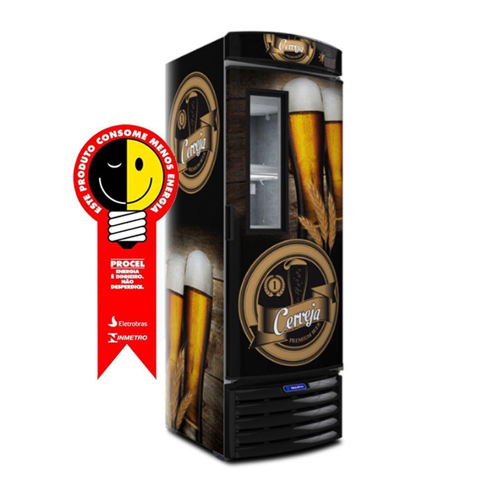Cervejeira Metalfrio 434 Litros Preta 220V - VN44FL