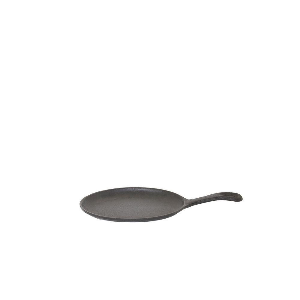 Chapa Oval de Ferro Fumil