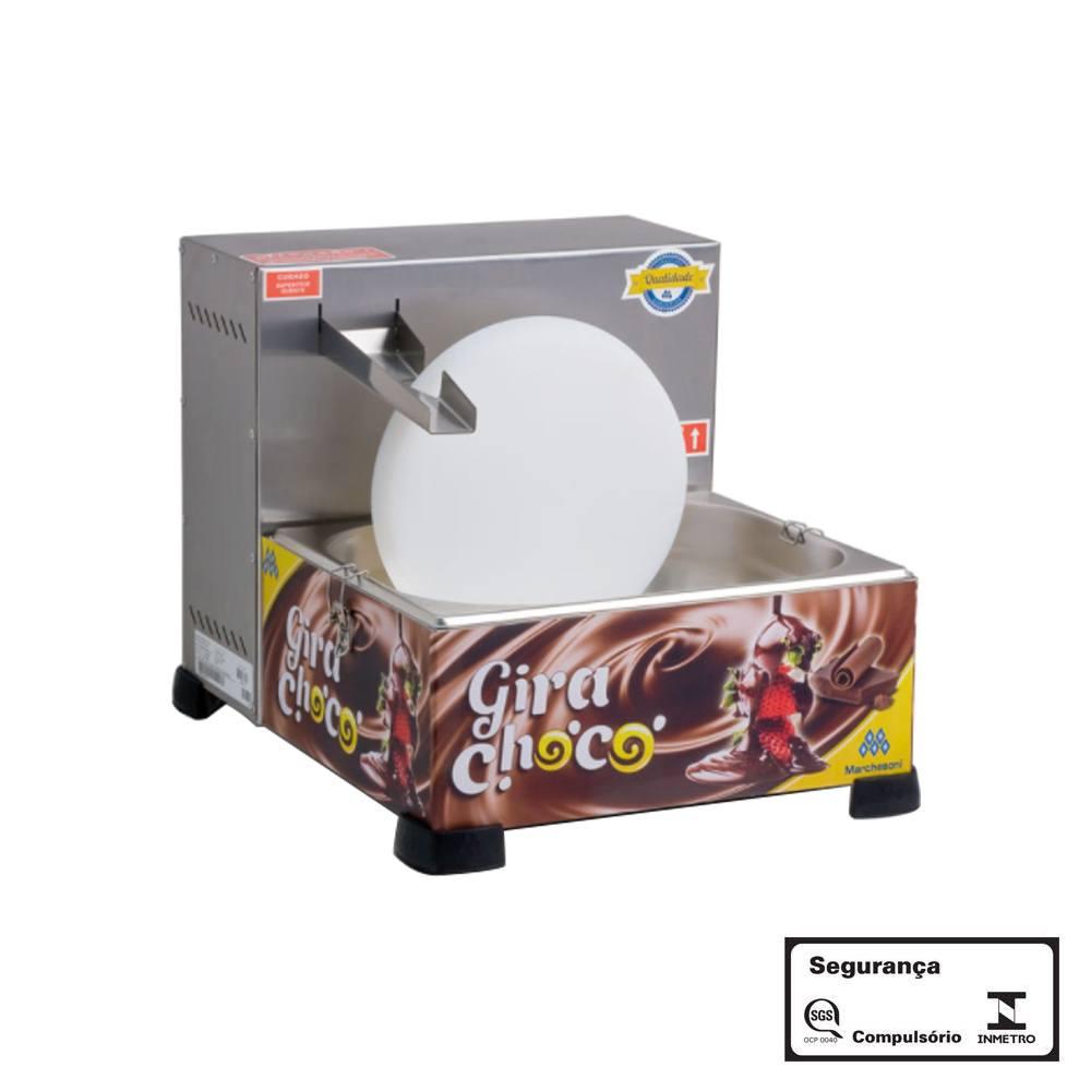 Derretedeira de Chocolate Gira-Choco Marchesoni 1 Roda 5 Kg 220v