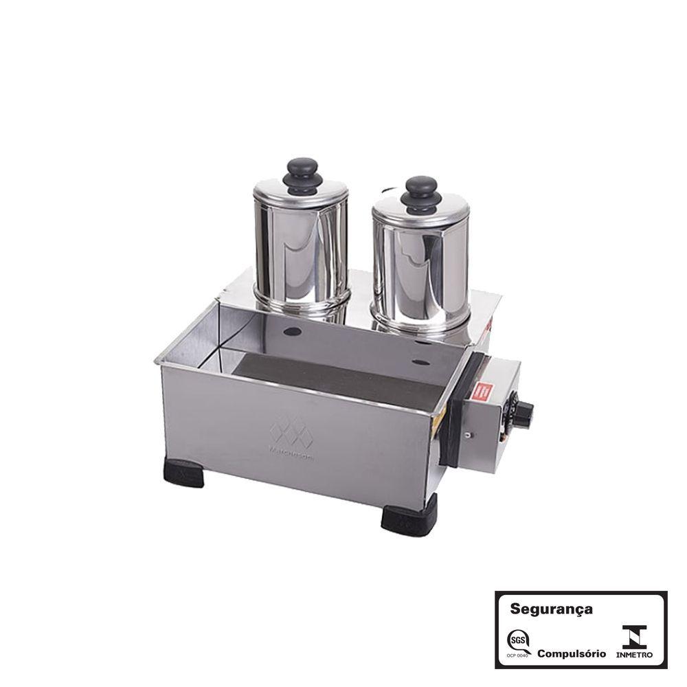 Esterilizador com 2 Bules Elétrico Aço Inox 220V Marchesoni