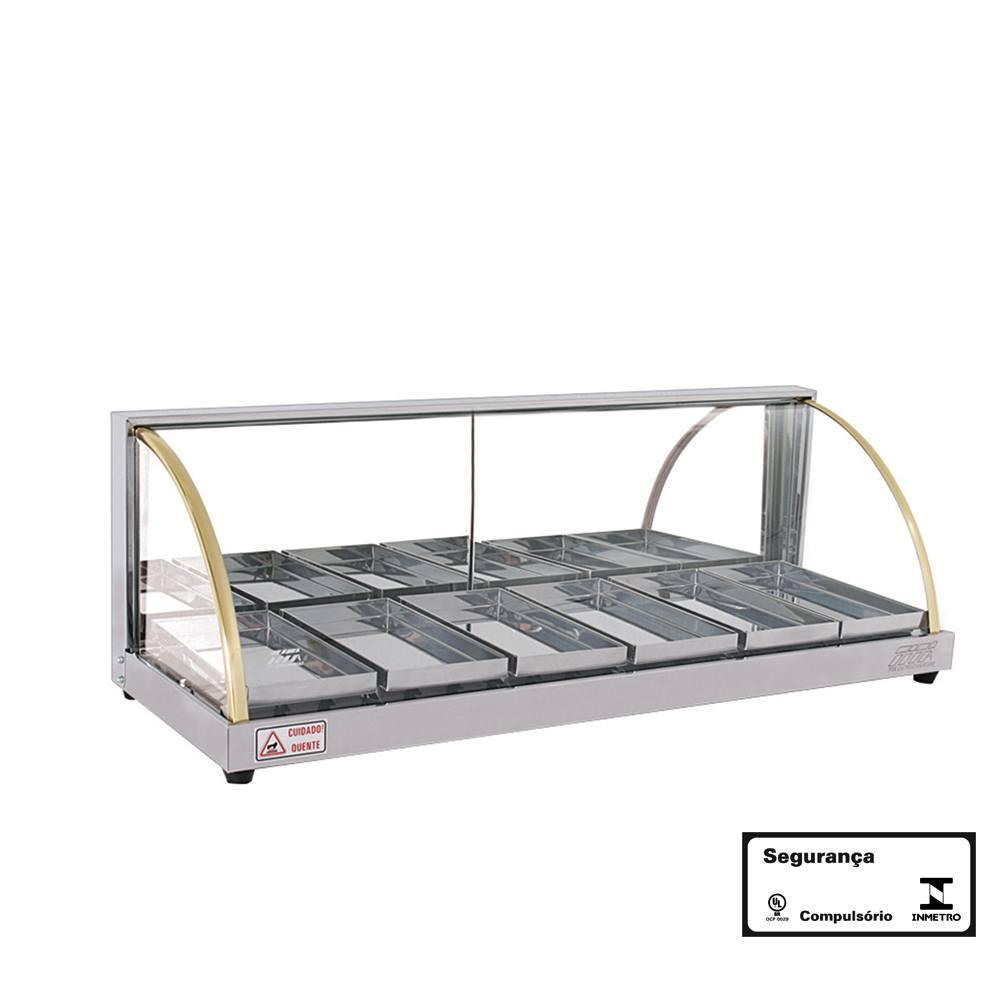 Estufa para Salgados 6 Bandejas Linha W 110V Titã
