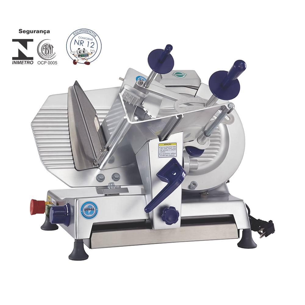 Fatiador de Frios Semi-Automático de 27,5 cm 1/4 cv 220V Gural