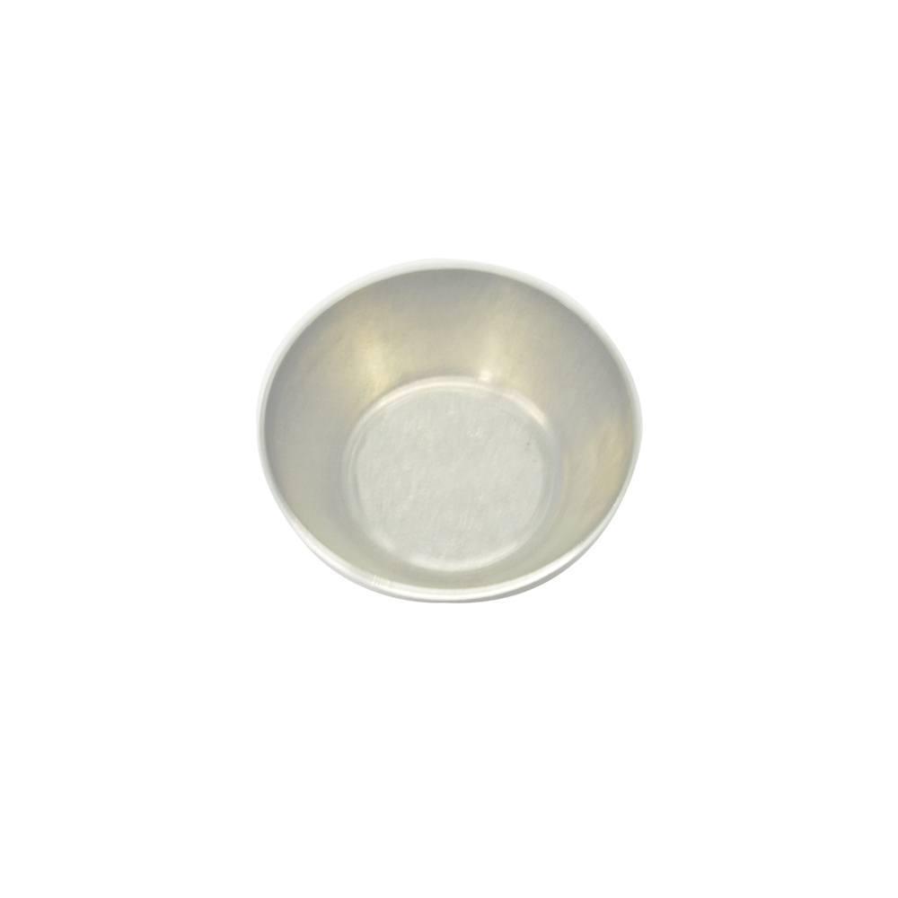 Forma de Empada Alumínio Lisa com Boca de 4,3 cm N0 Doupan 1219
