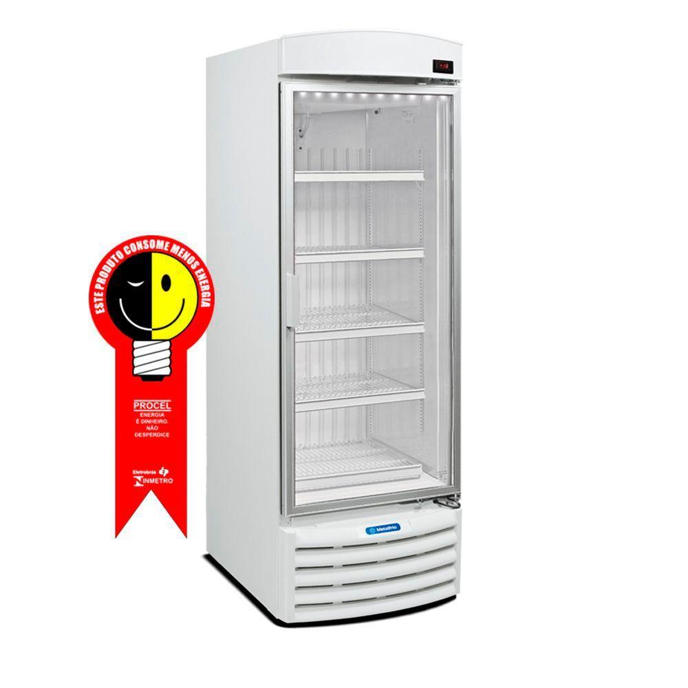 Freezer Vertical Metalfrio 572 Litros Porta de Vidro 220V - VF50FL