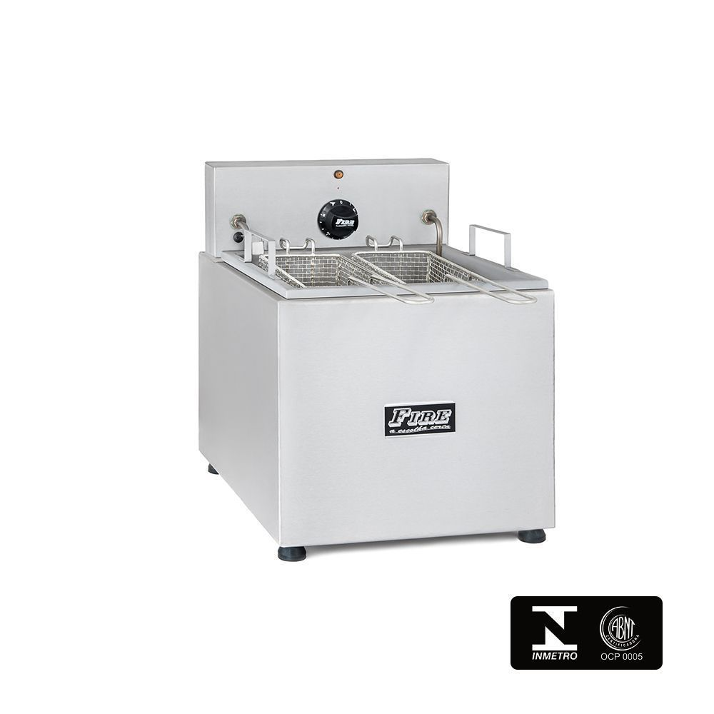 Fritadeira Elétrica Industrial Com Filtro de Água de Mesa 220V Fire