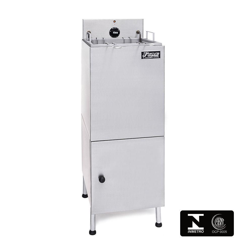 Fritadeira Elétrica Industrial Com Filtro de Água e Gabinete 220V Fire