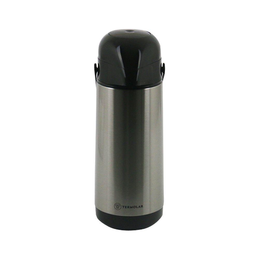 Garrafa Térmica de Inox Termolar 1 Litro de Bomba Exterior Lúmina