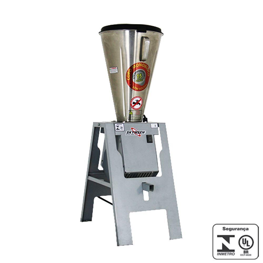 Liquidificador Industrial Basculante 15 Litros Inox Skymsen 220V